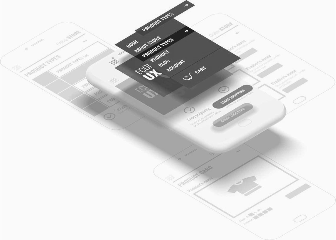 Design and UX of an online store