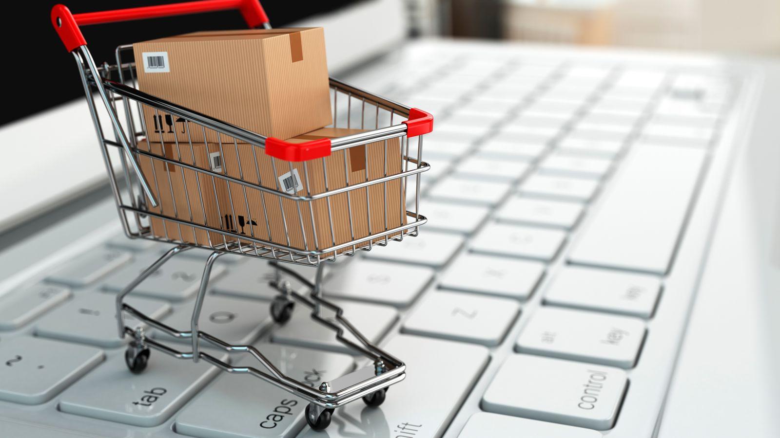 Работа с онлайн магазин
