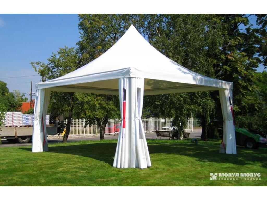 Square tent - 1/6