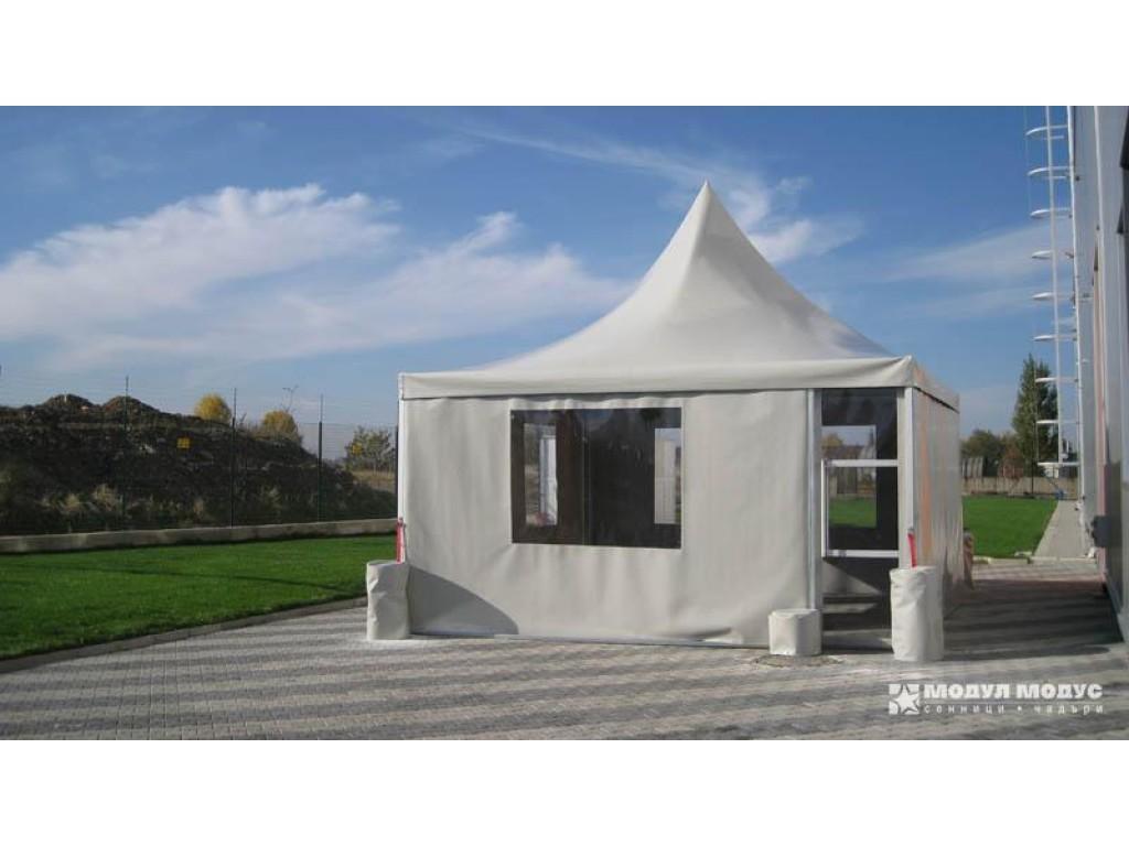 Square tent - 4/6