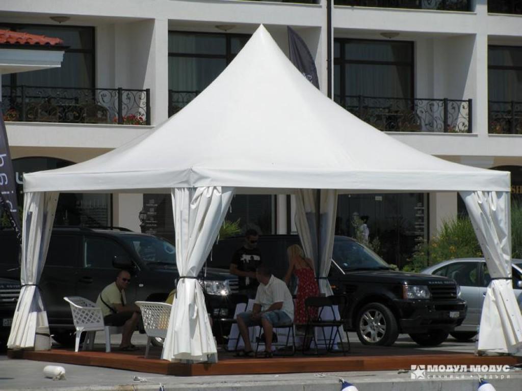 Square tent - 5/6